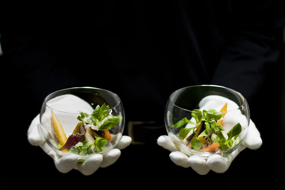 cena a diez manos Villa Joya