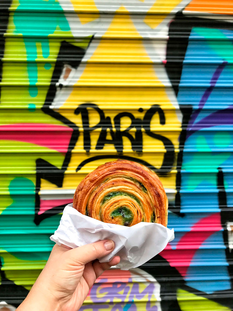 Panaderias en Paris