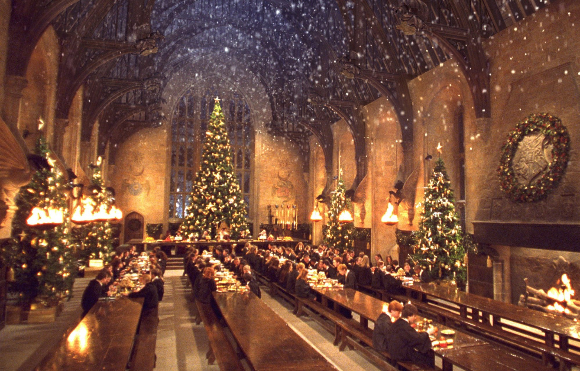 Cena navideña de Harry Potter en Londres