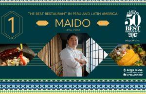 Maido, en Peru, fue el numero 1 de latam