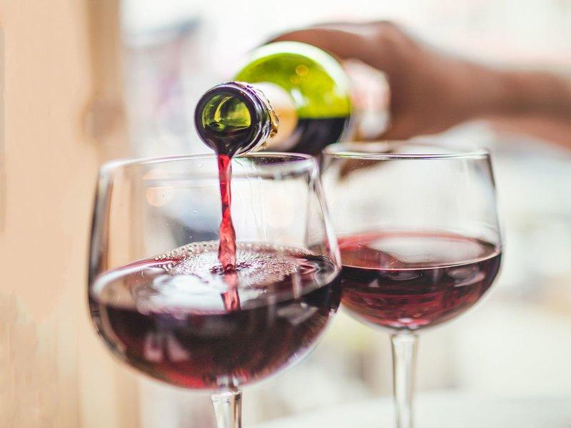 vino sobrante