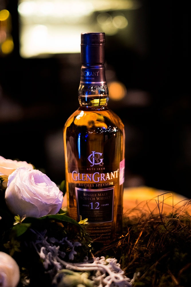 glen grant whisky escocés