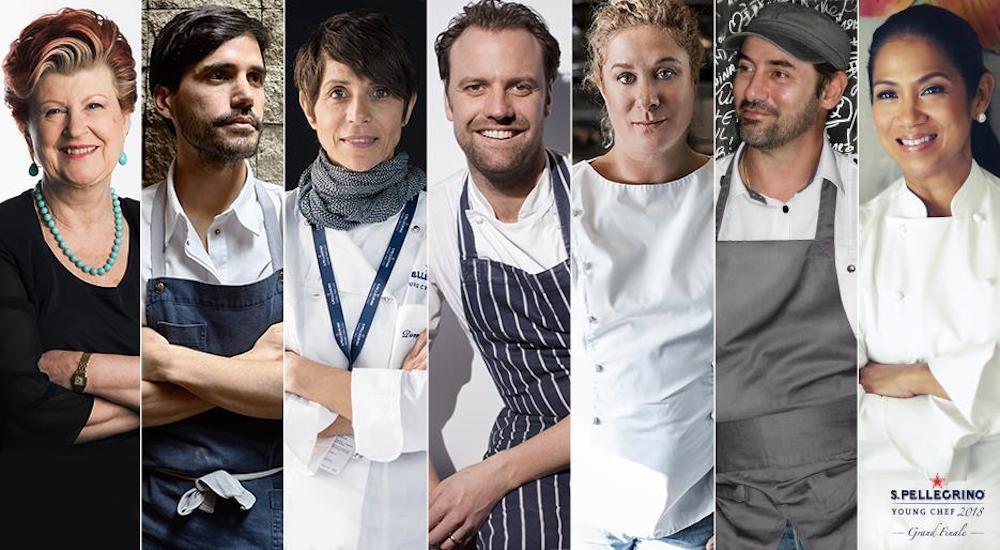 Conoce al jurado que elegirá al S.Pellegrino Young Chef 2018