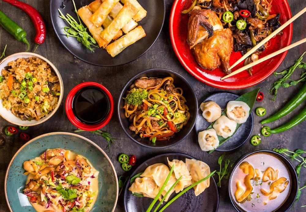 comida china de la suerte