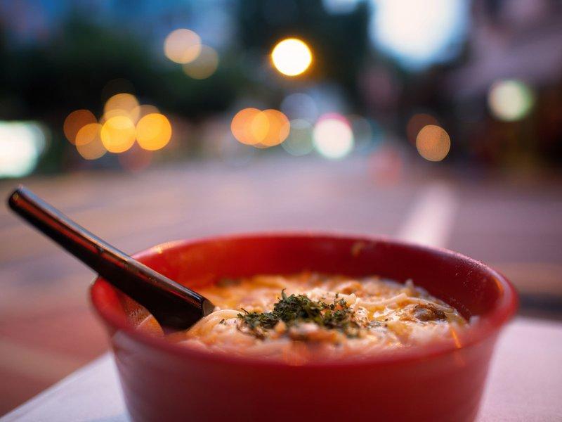 sopa / noodles singapur