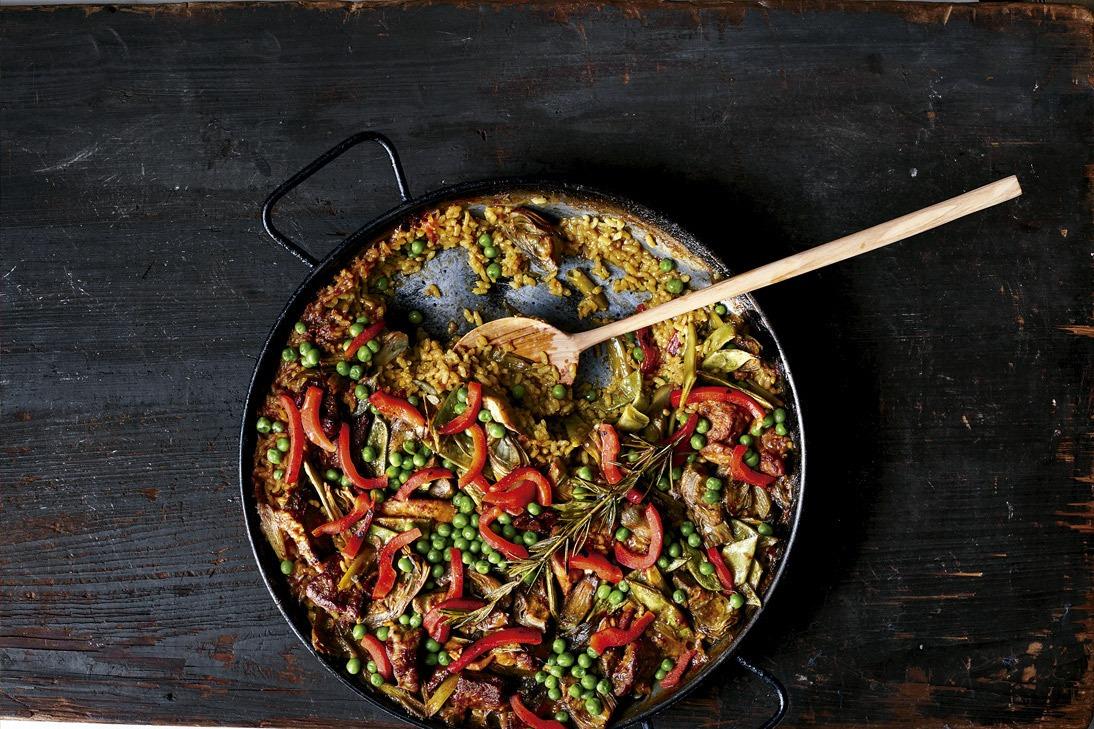 paella receta chef María José San Román