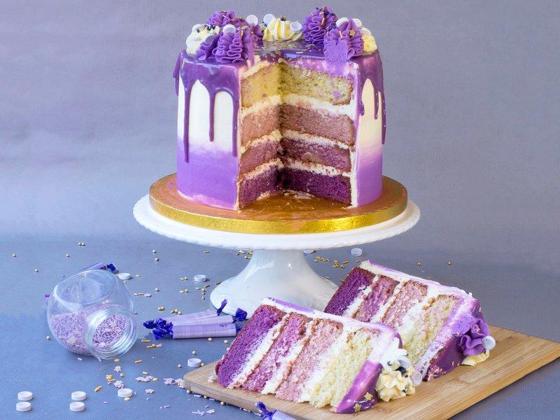 prince purple rain cake