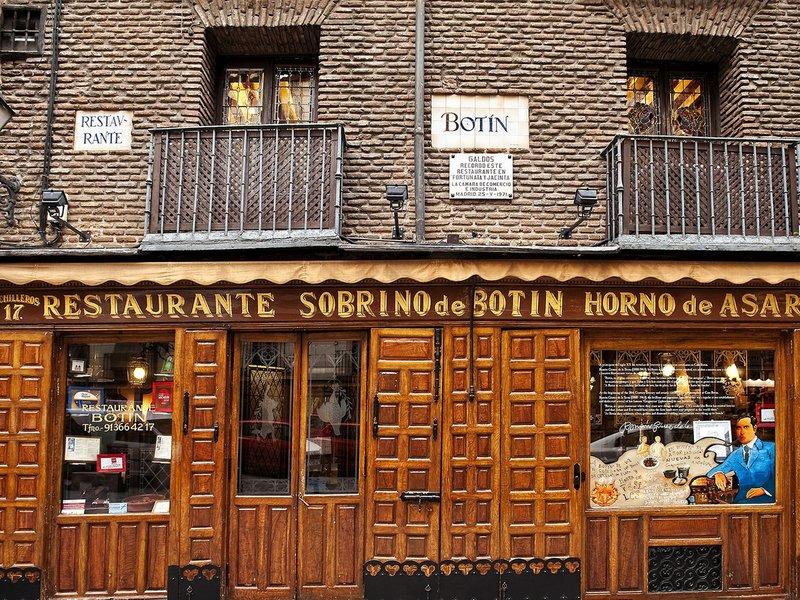 botín restaurante mas antiguo del mundo