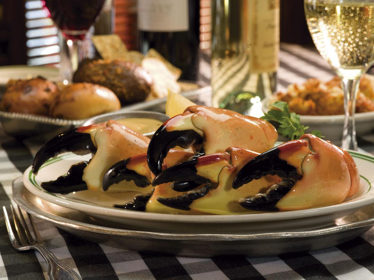 manitas de cangrejo stone crab