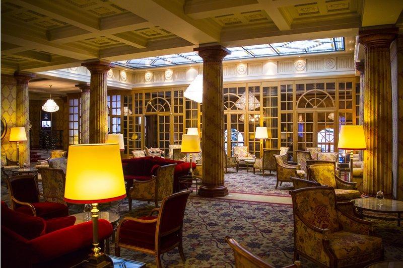 hotel kulm, recepcion, suiza