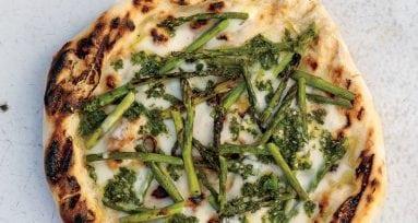 pizza esparragos