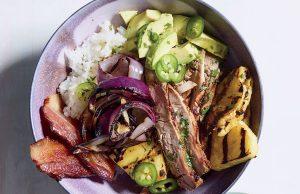 bowl de cerdo