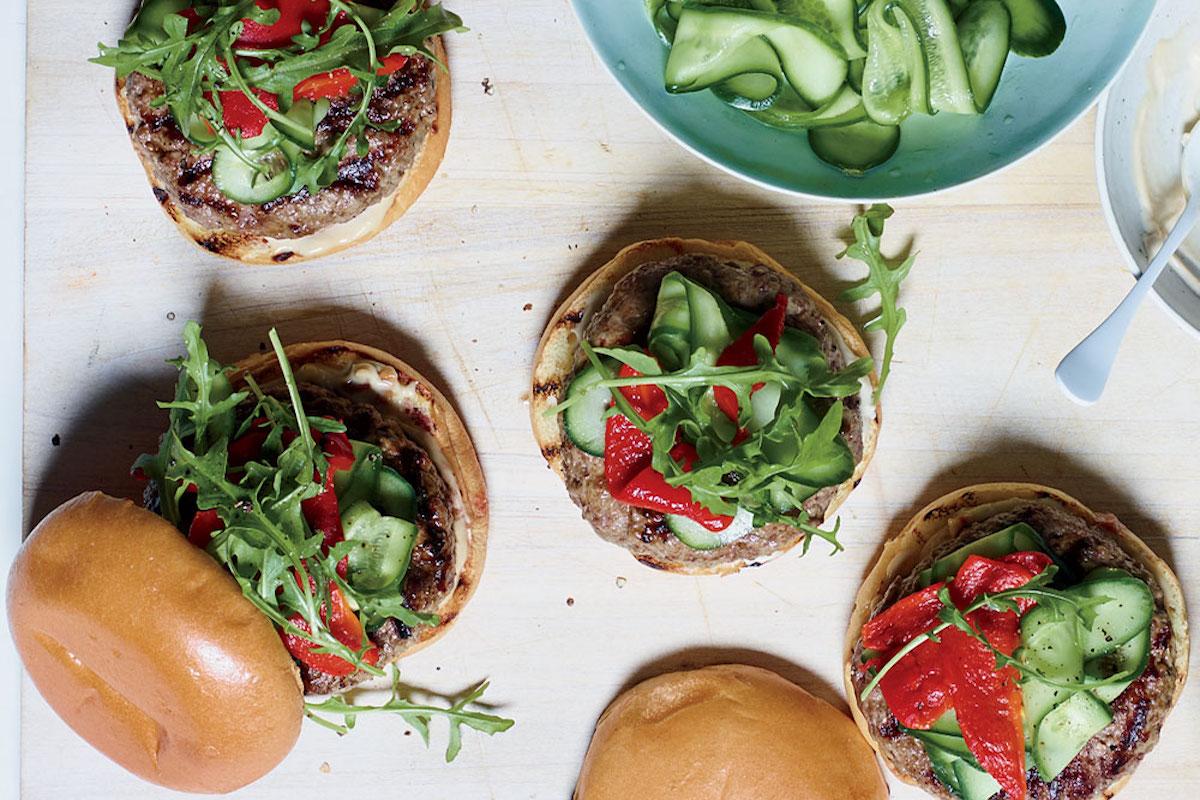 hamburguesa de cordero
