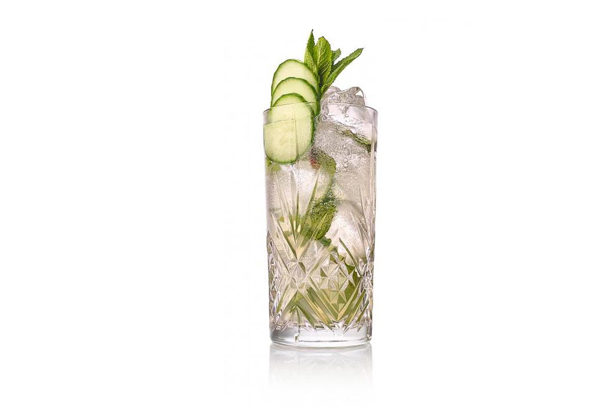 coctel gin pepino