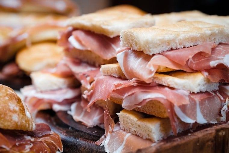 sándwiches italianos