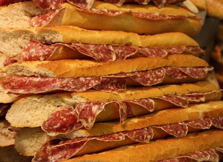 sándwich, sándwiches franceses