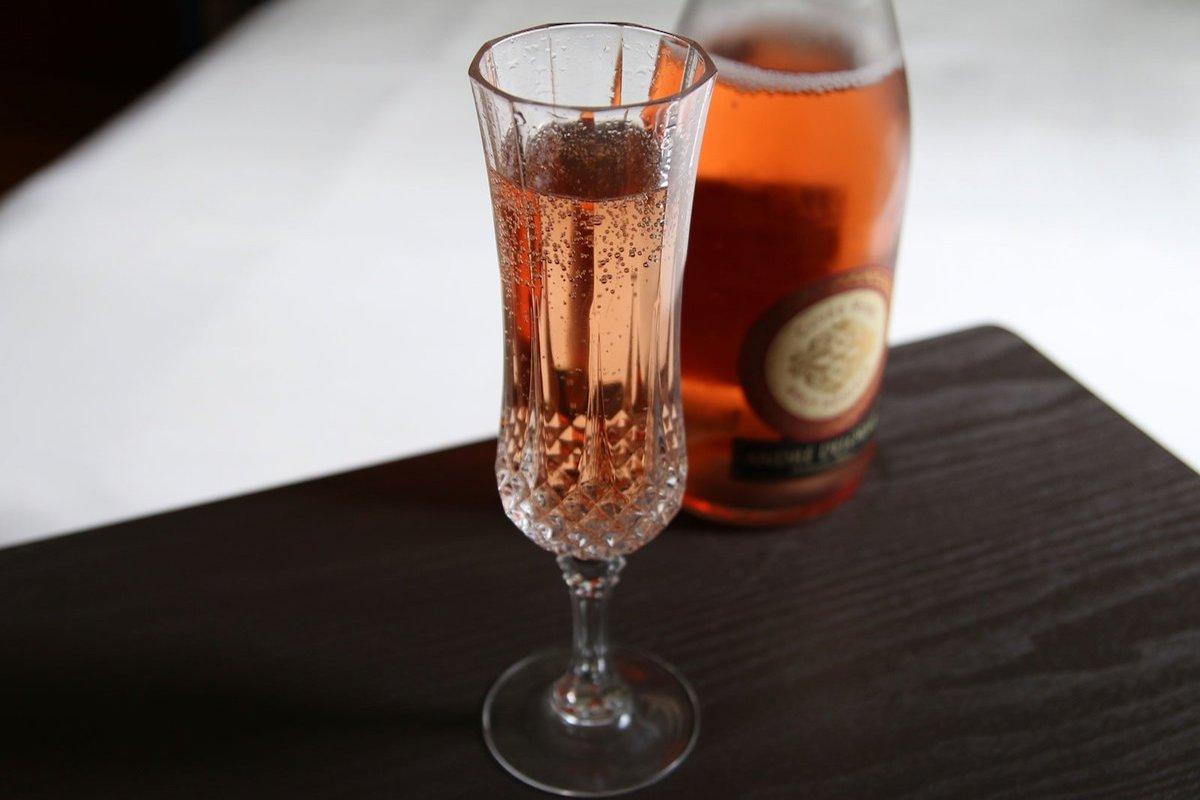 vino espumoso rosado