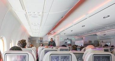 aerolíneas comida