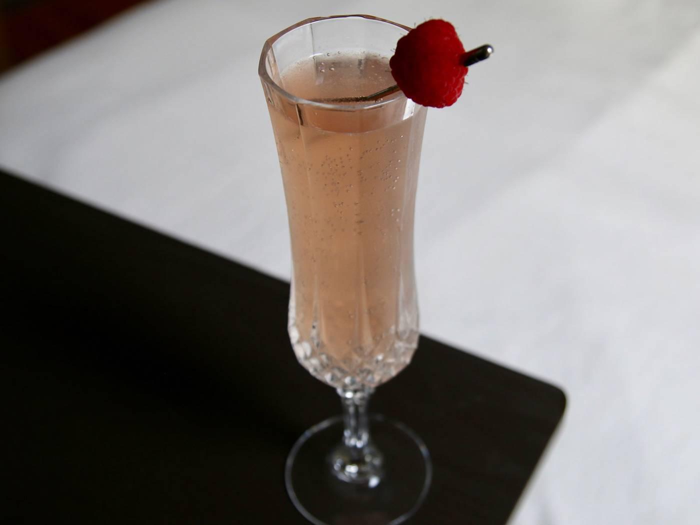 vino rosado espumoso