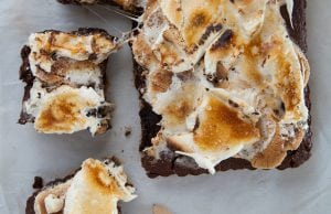 s'mores brownies s'more