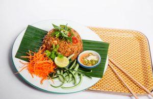 arroz salteado tailandés