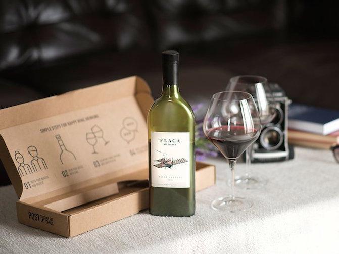 botella de vino, botella plana, botella de vino plana, garçon wines, vino, innovacion, empaque