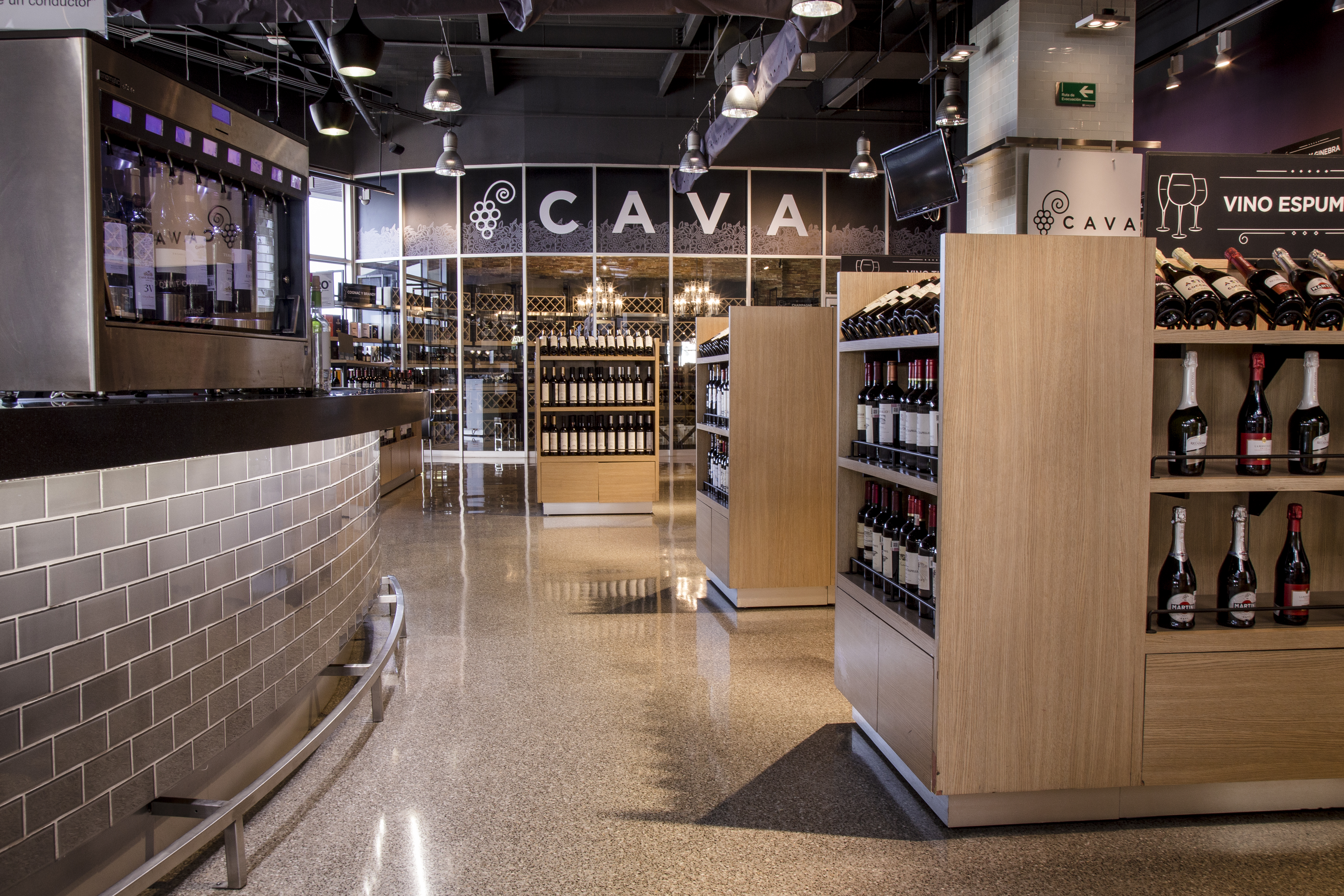 Corner de vinos