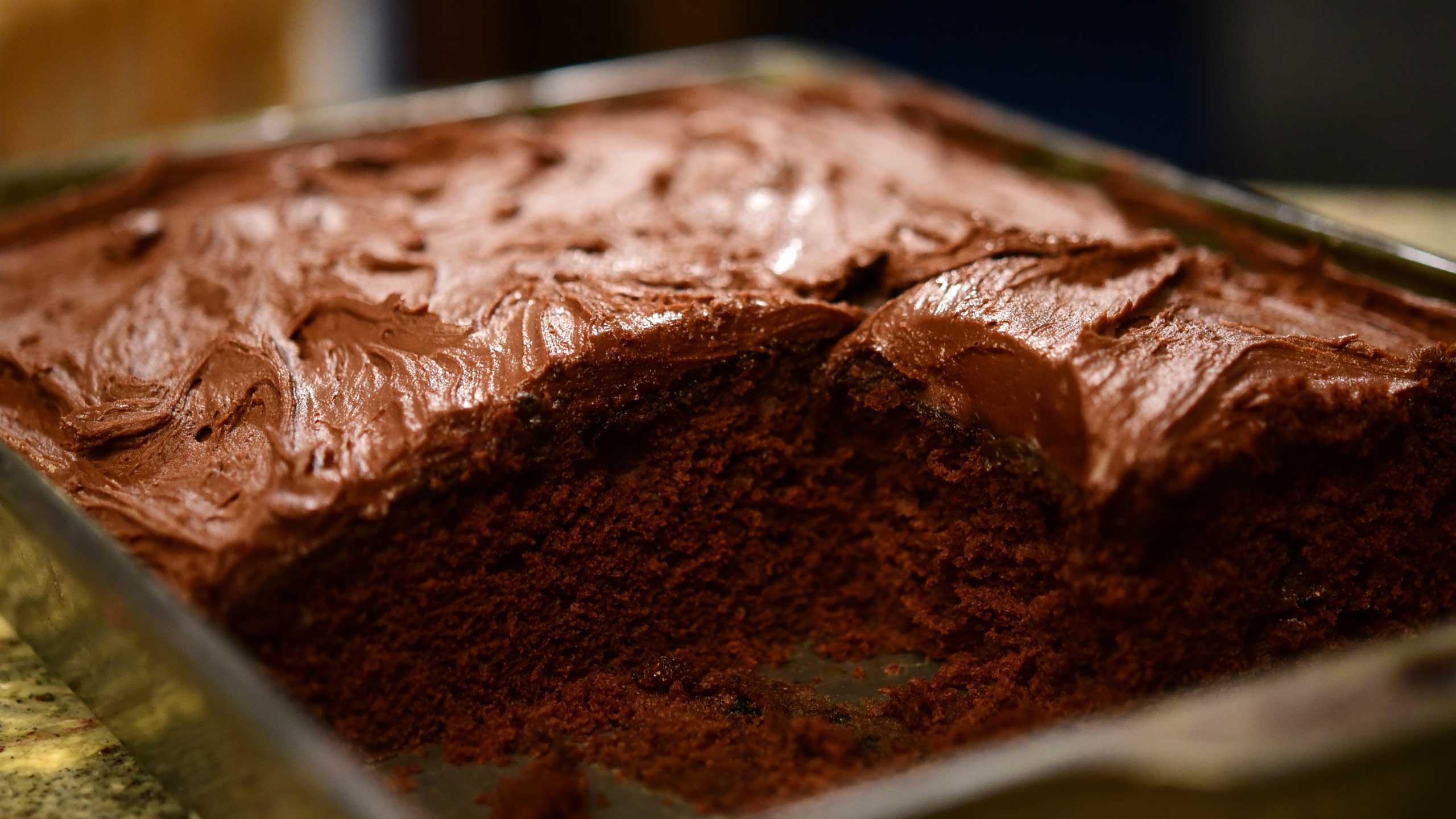 pastel de chocolote