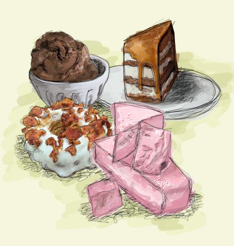 rosa millennial, gluten free