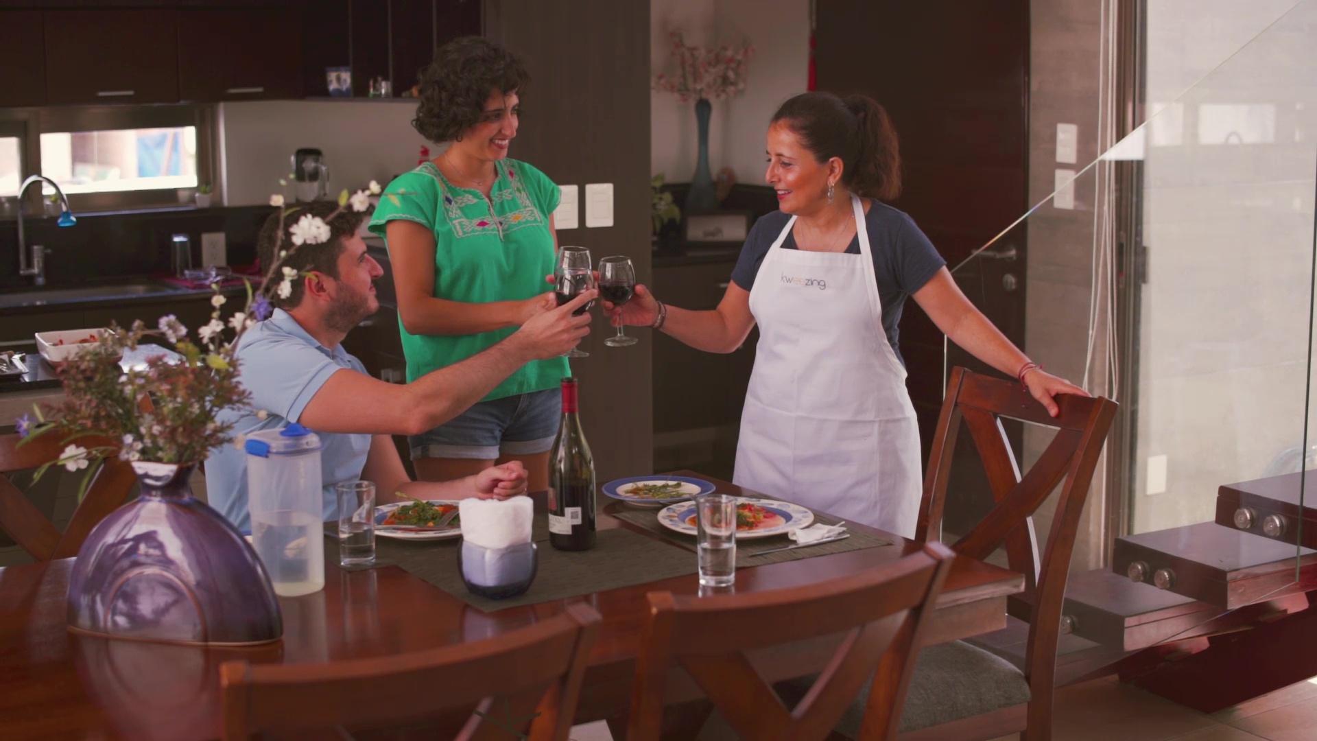 Kweezing: cocinar, conocer y probar