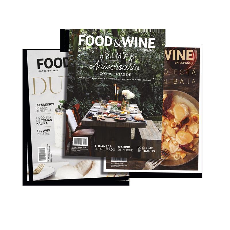 SUSCRÍBETE A FOOD & WINE en español.