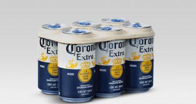 empaque eco friendly en latas de cerveza
