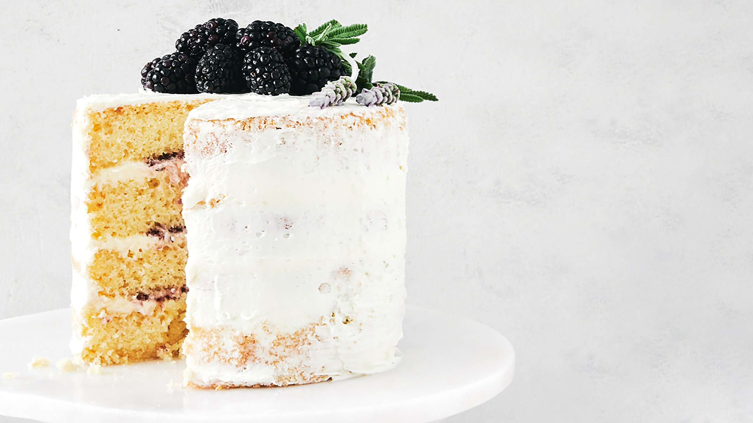 naked cake de vainilla