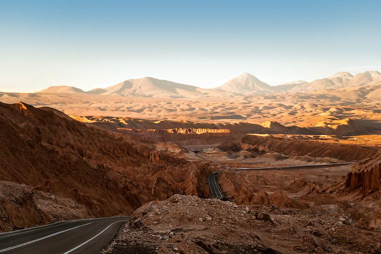 desierto de atacama montaña