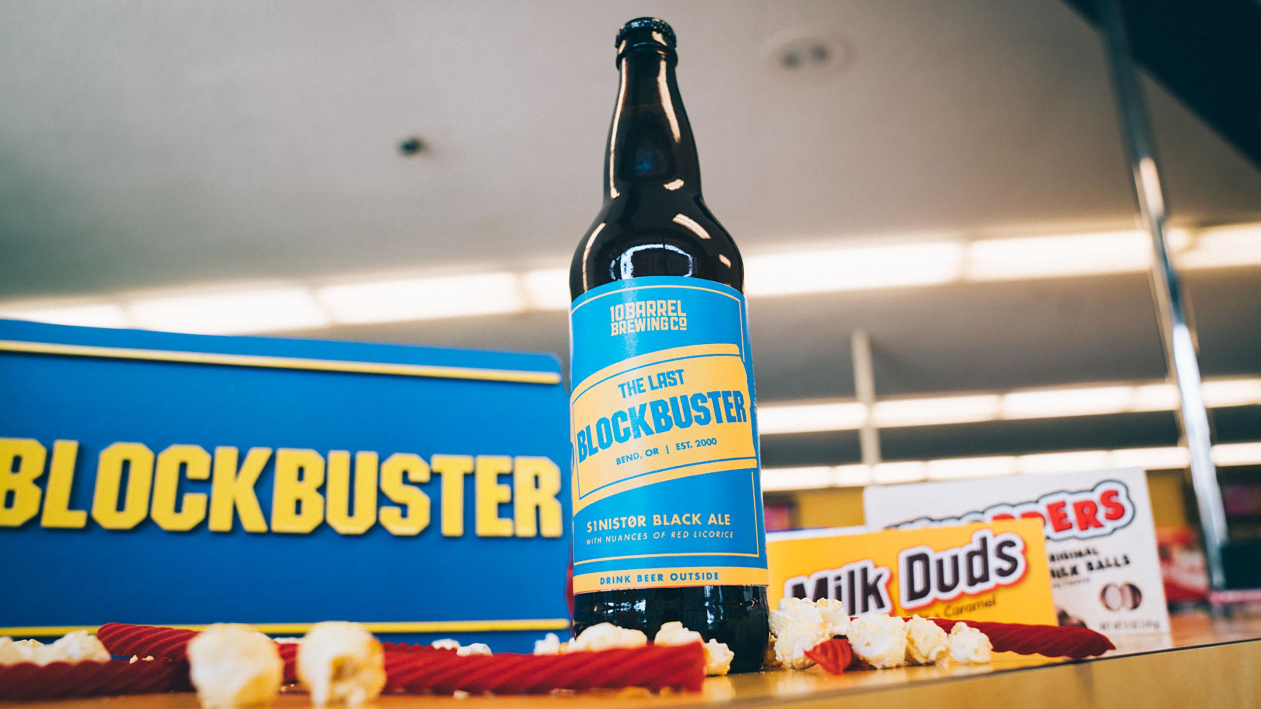 La cerveza que rinde homenaje a las tiendas Blockbuster