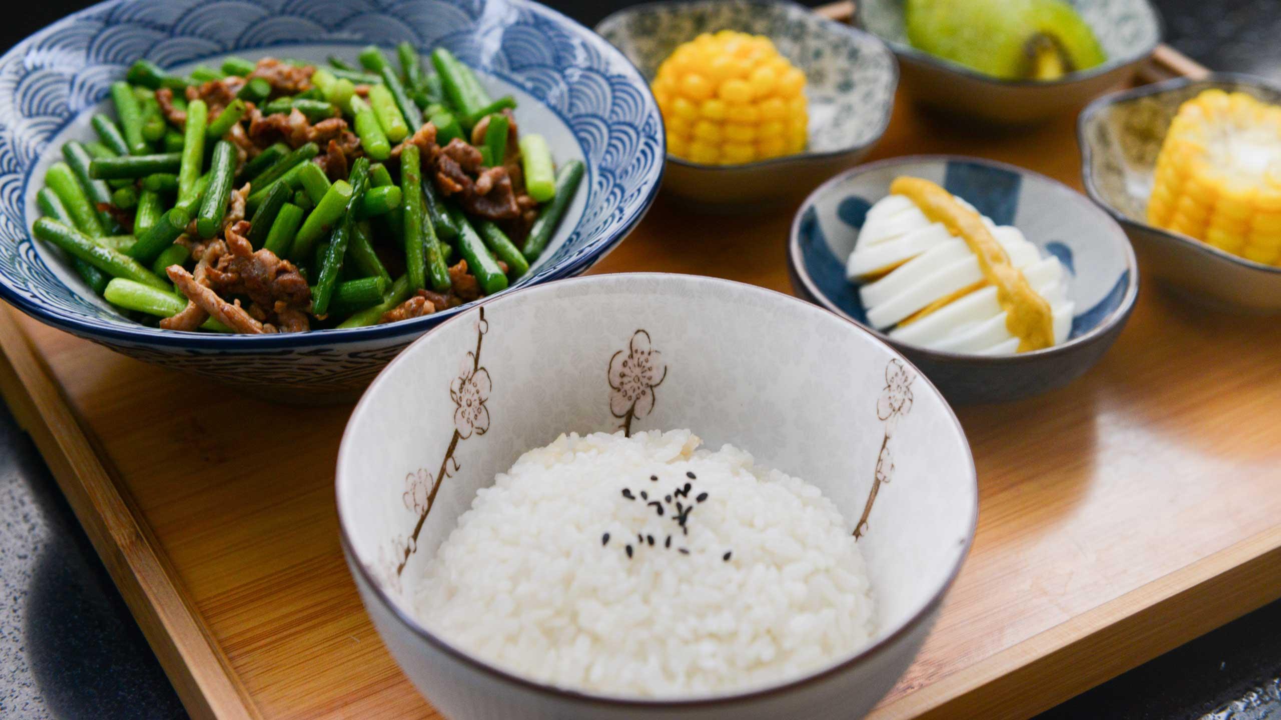 pasos para preparar arroz