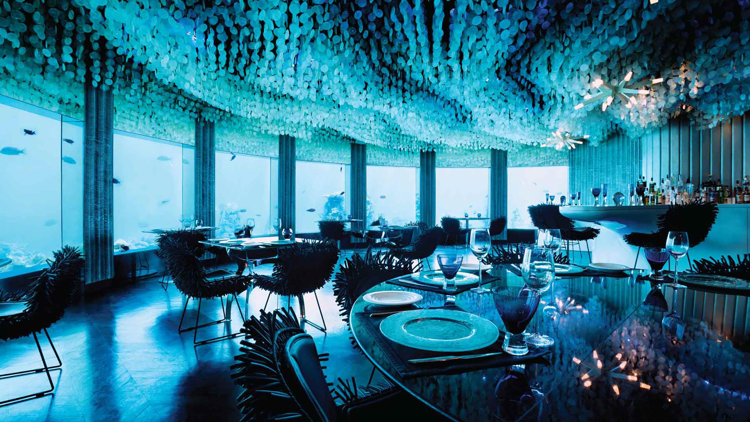 Los restaurantes submarinos más increíbles del mundo