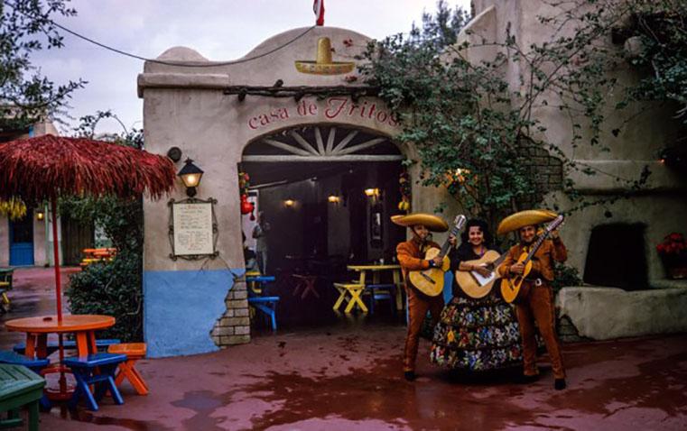 Casa de Fritos en Disneyland