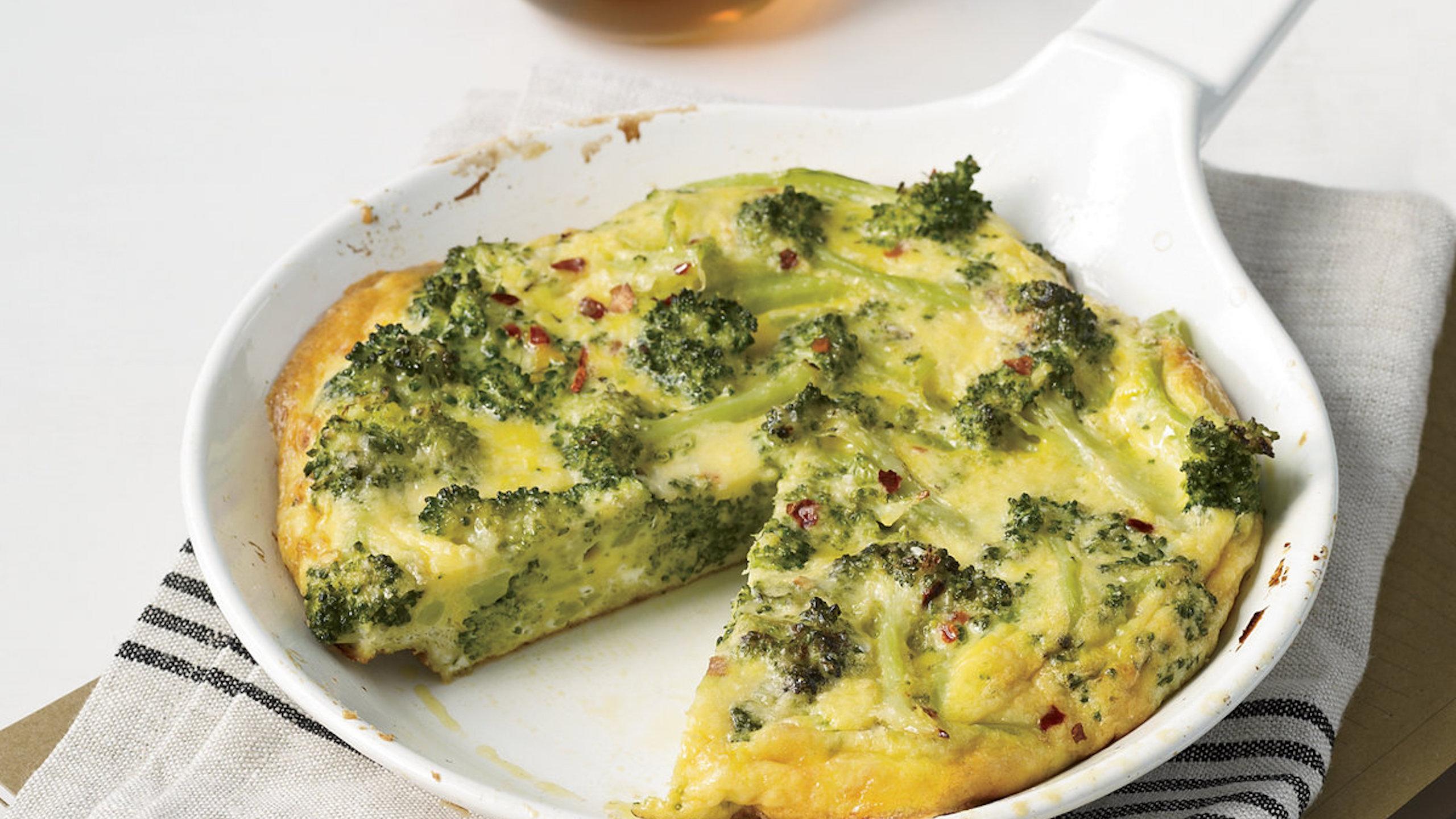 frittata de brócoli