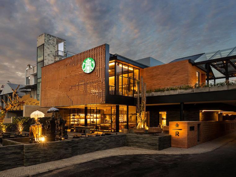 santuario de café indonesia starbucks