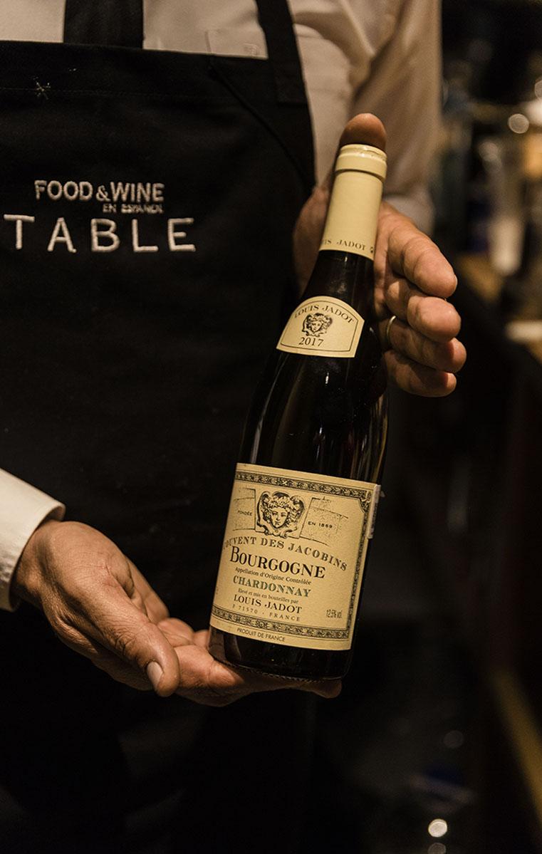 Para maridar el evento, nos acompañó Louis Jadot con su Chardonnay