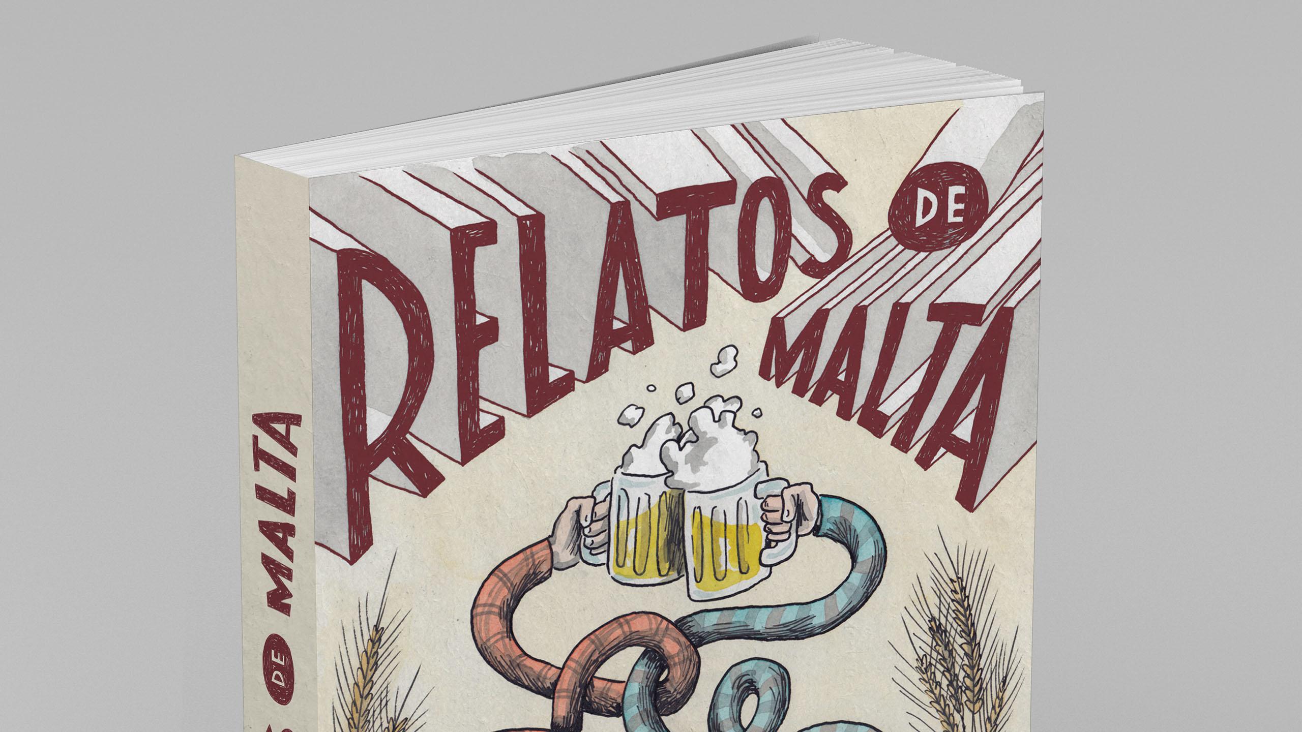 Este es el primer libro en el mundo hecho de malta
