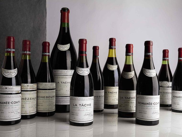 Sothebys subasta de vinos