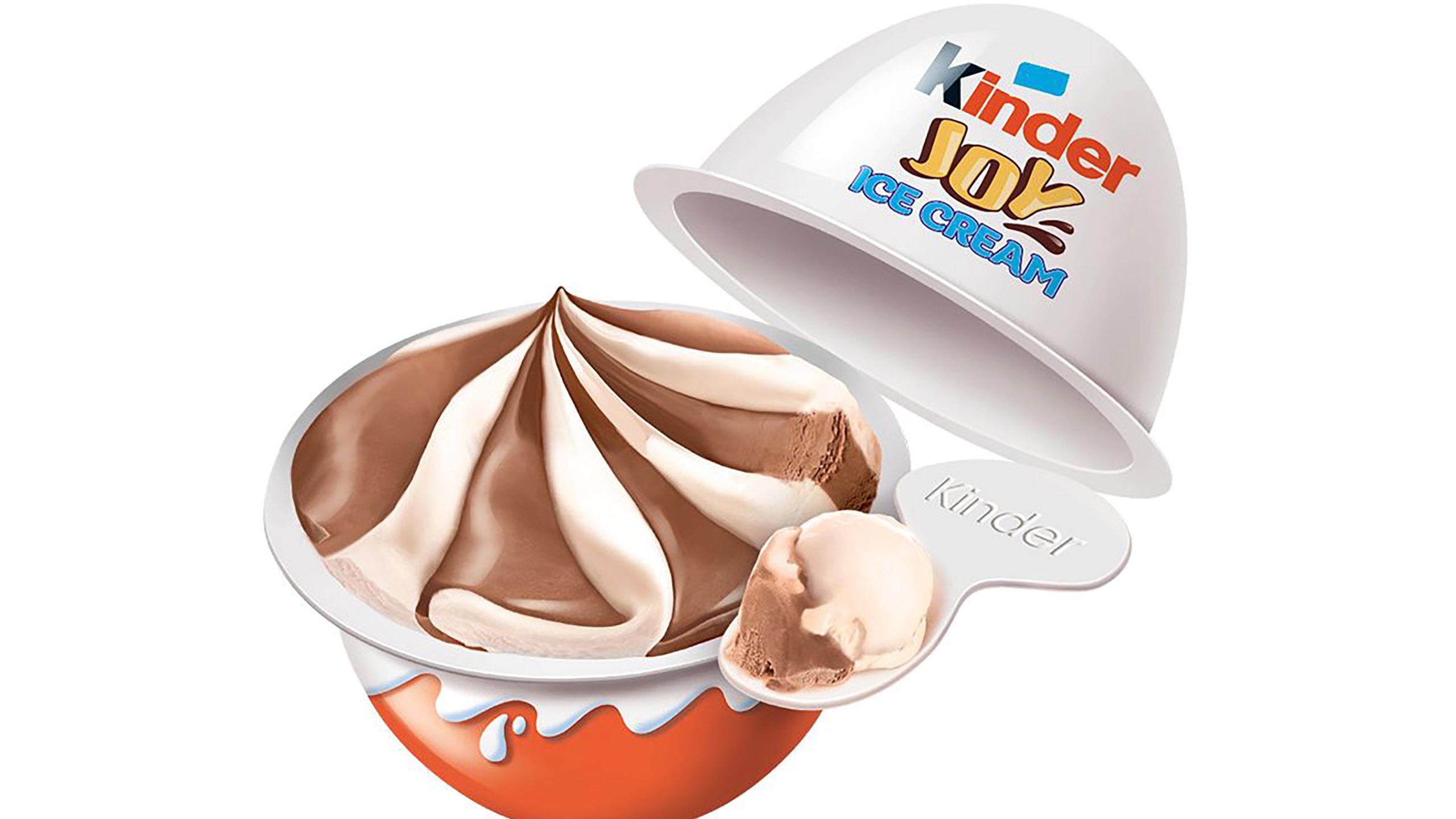 Kinder lanza paletas heladas y helado