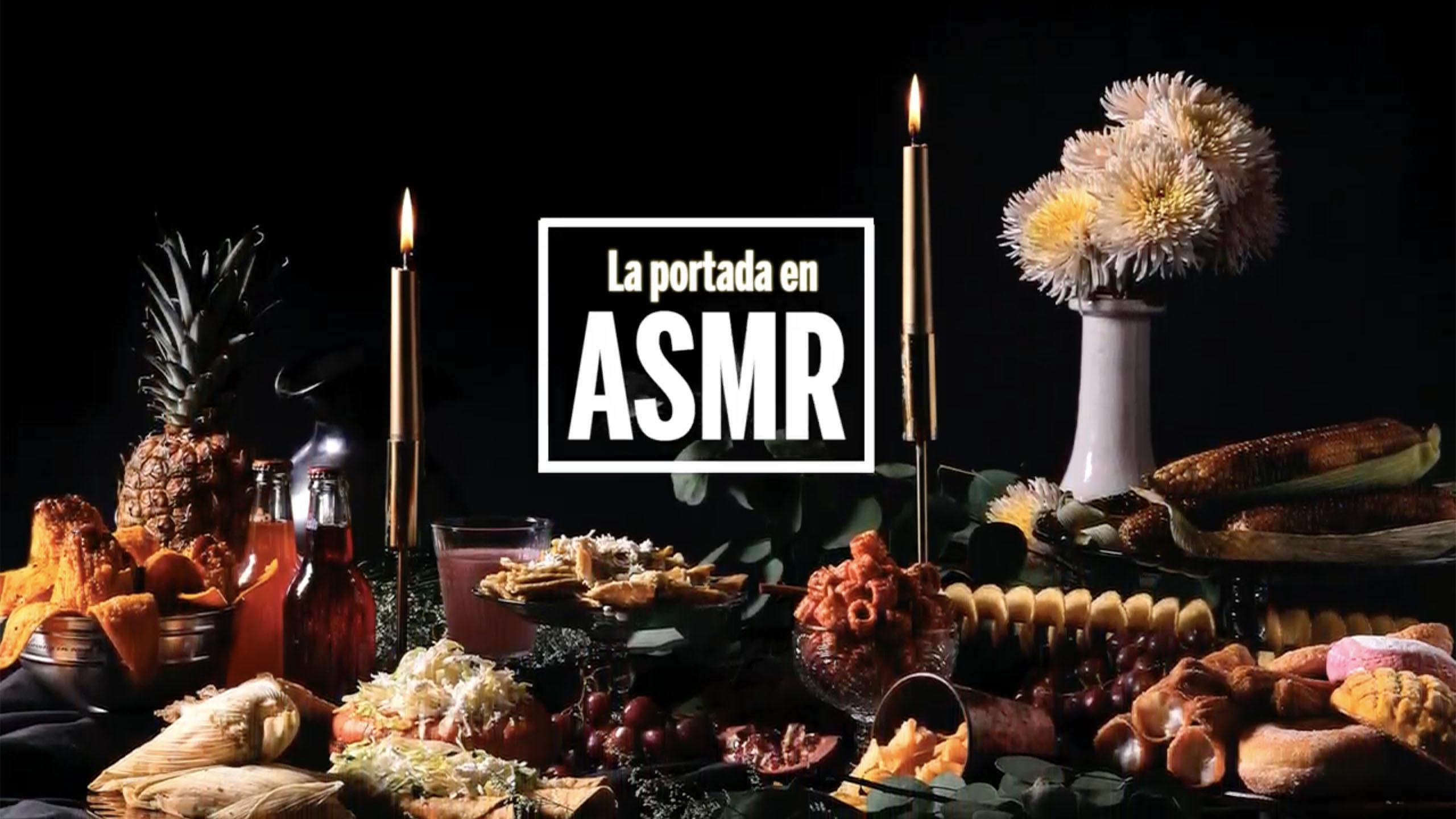 Recreamos la portada en formato ASMR