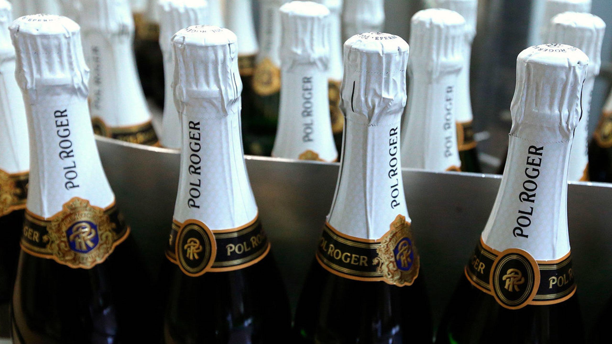 champagen Pol Roger