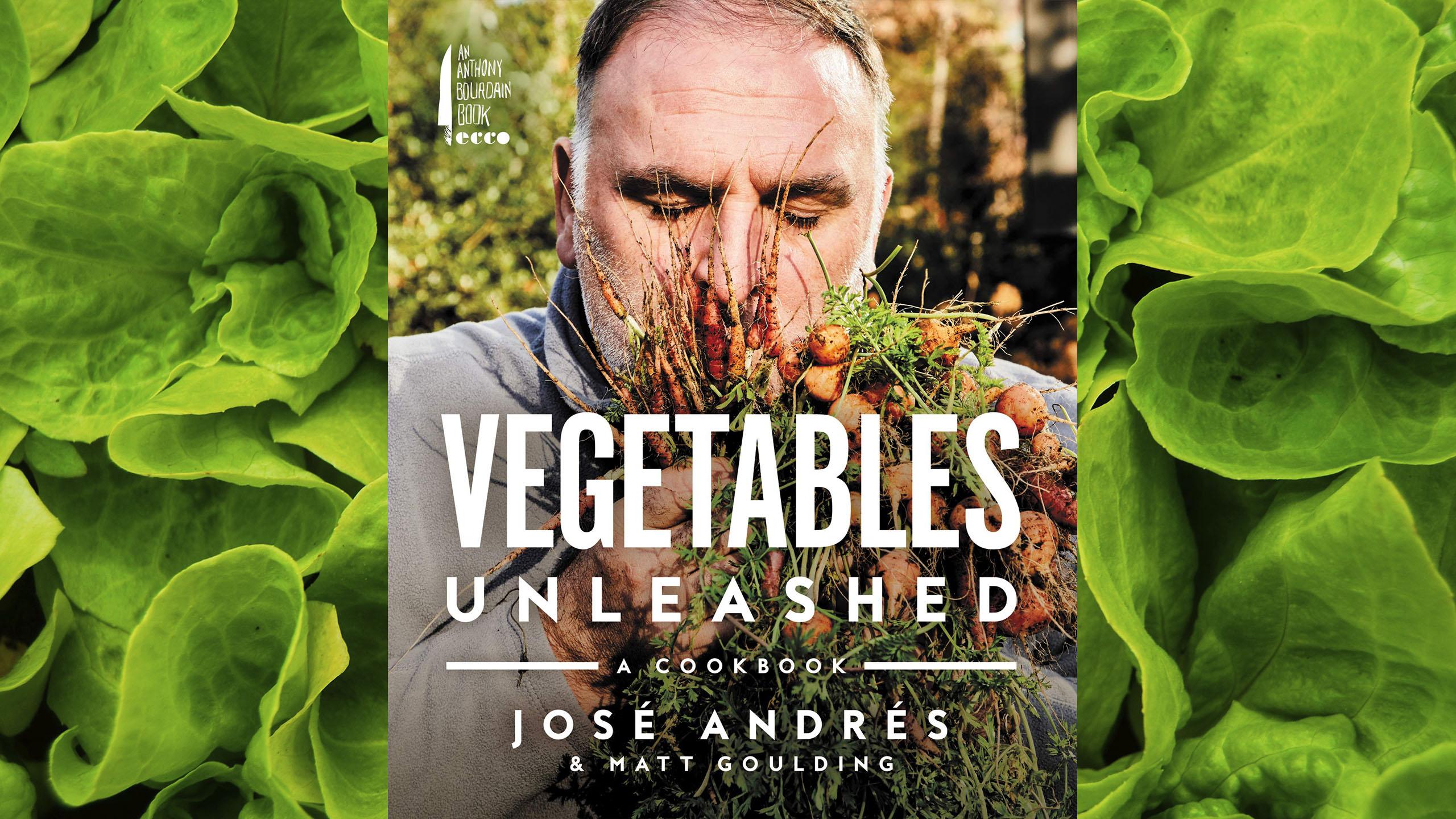 José Andrés, libro, libro de cocina, vegetales