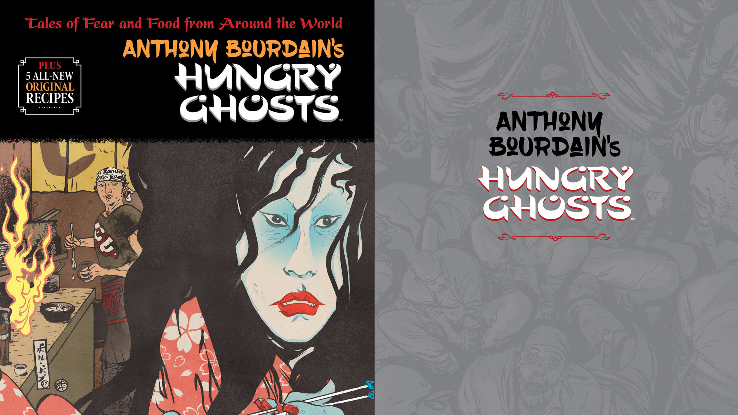 Anthony Bourdain, novela, novela gráfica, hungry ghosts