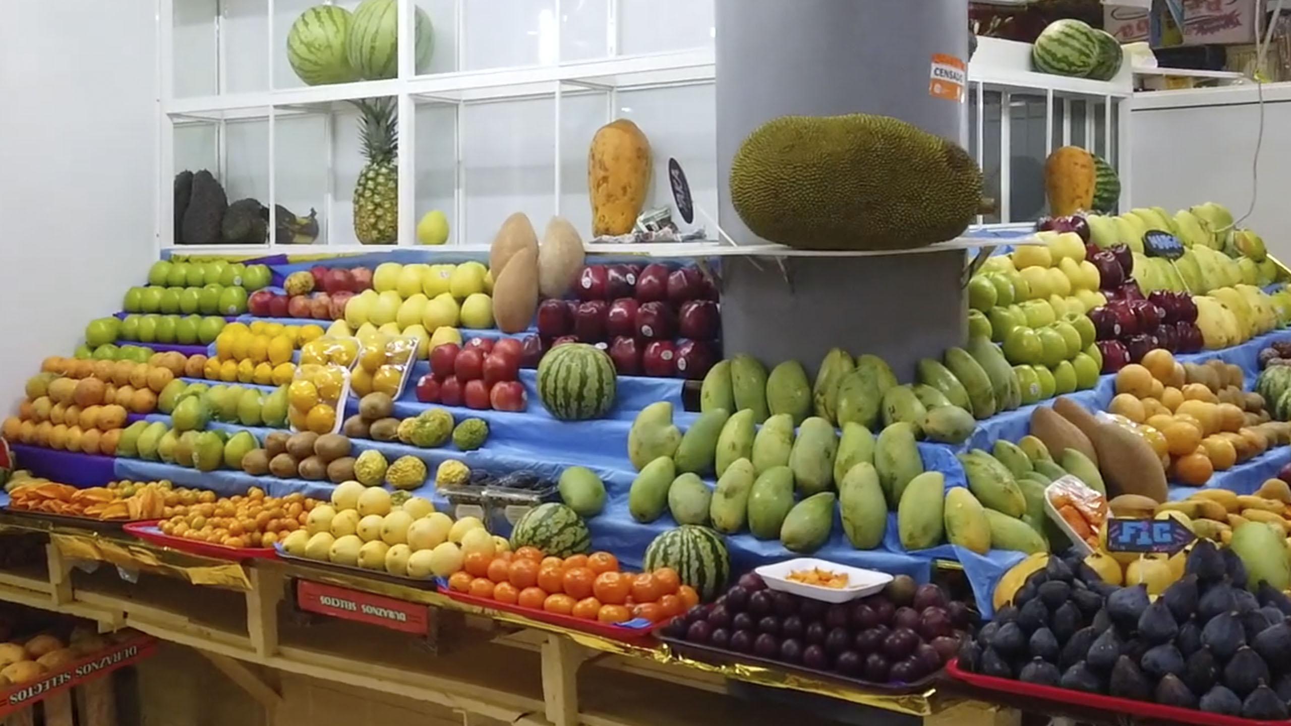 mercado, mercado de san juan, frutas, Ciudad de México
