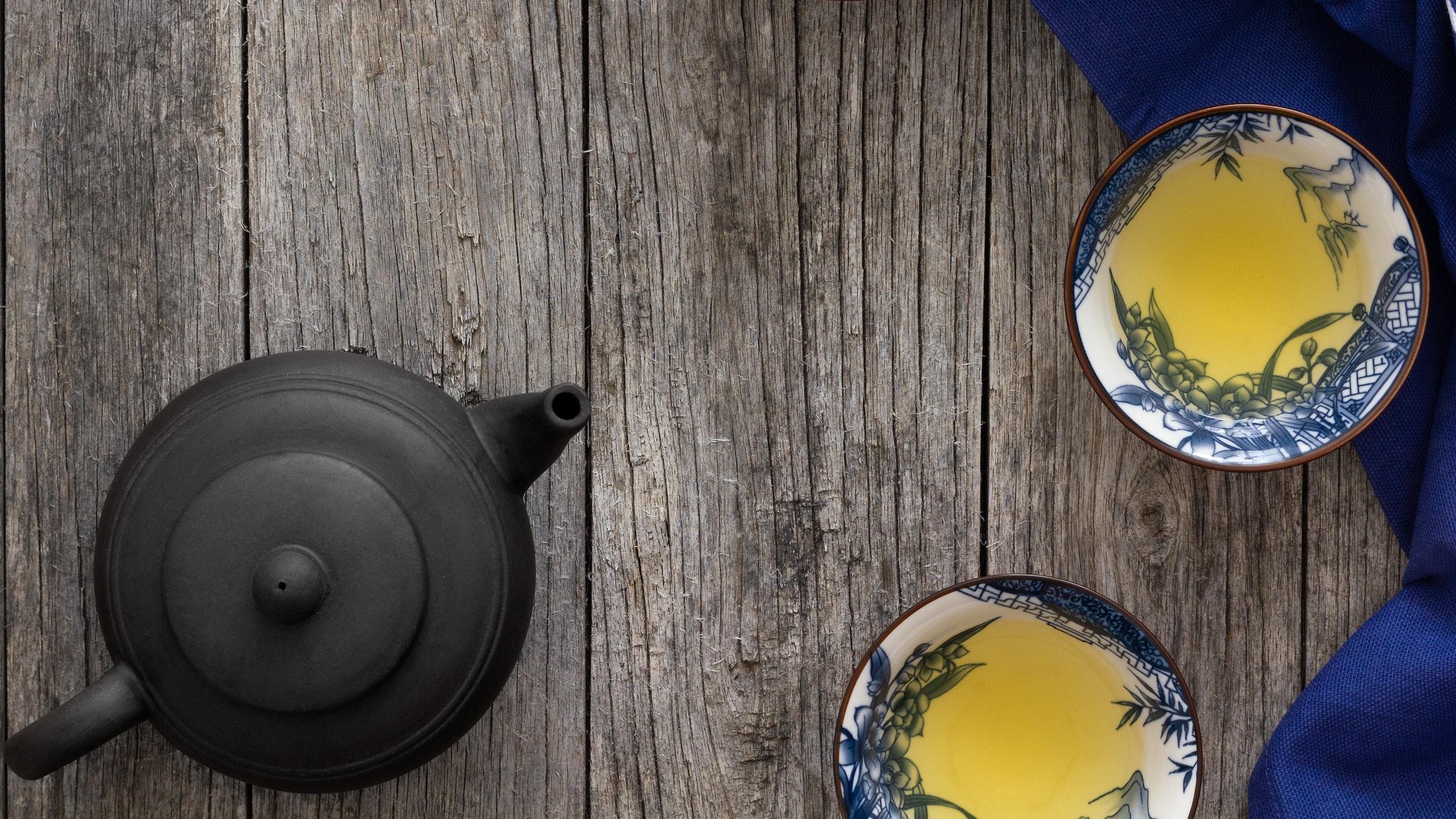 estilos de té